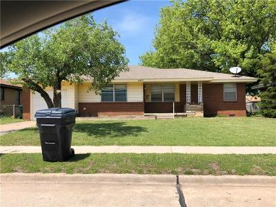 Oklahoma City OK Single Family Home For Sale: $100,000