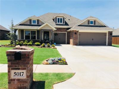 Edmond Single Family Home For Sale: 5017 Wister Lane