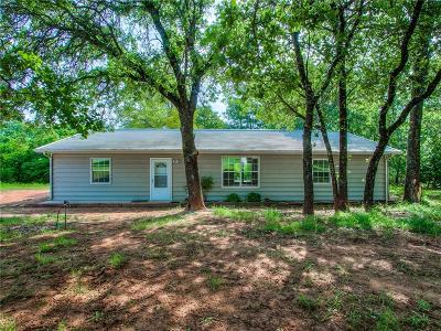 Blanchard OK Single Family Home For Sale: $174,900