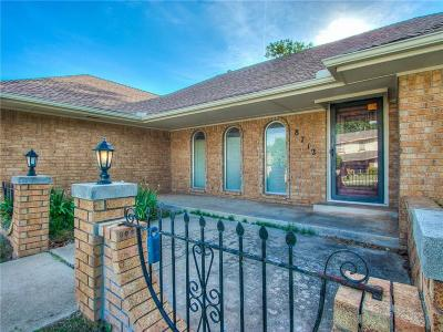 Oklahoma City Single Family Home For Sale: 8712 Candlewood