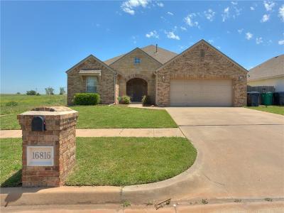 Edmond Single Family Home For Sale: 16816 Ventana Boulevard