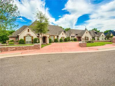 Oklahoma City OK Single Family Home For Sale: $1,300,000