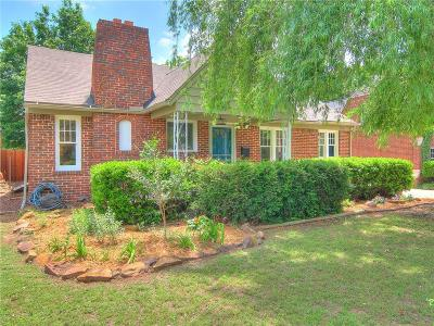 Oklahoma City Single Family Home For Sale: 2738 NW 19th Street