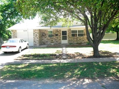 Tecumseh Single Family Home For Sale: 505 N 2nd