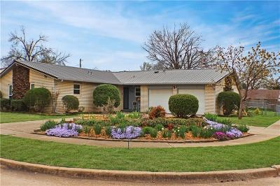 Edmond Single Family Home For Sale: 3101 Beverly Drive