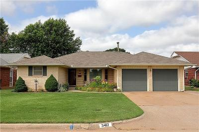 Midwest City Single Family Home For Sale: 3417 N Ridgewood Drive