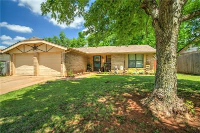 Edmond Single Family Home For Sale: 1312 Craig Boulevard