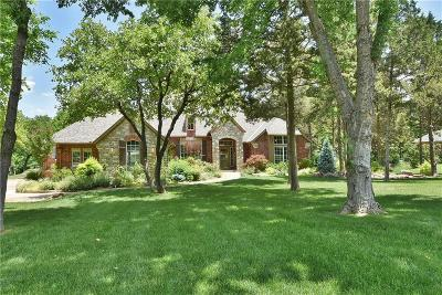 Edmond Single Family Home For Sale: 7450 Winterwood Drive
