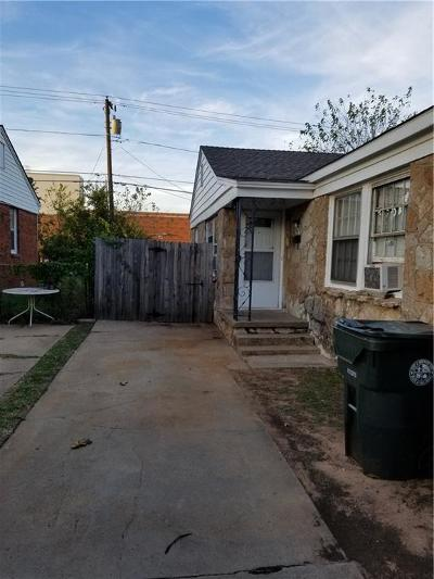 Midwest City Multi Family Home For Sale: 543 E Indian Drive