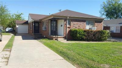 Midwest City Multi Family Home For Sale: 547 E Indian Drive