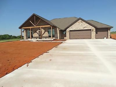 Blanchard OK Single Family Home For Sale: $239,500