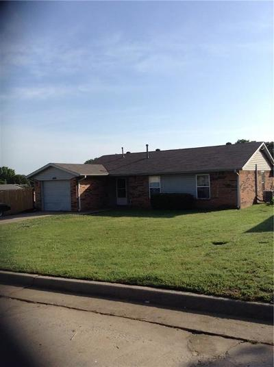 McLoud Single Family Home For Sale: 488 Harris