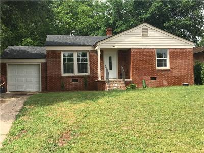 Oklahoma City Single Family Home For Sale: 1445 Euclid