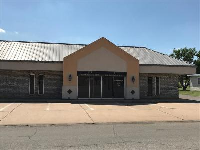 Weatherford Commercial For Sale: 215 N Illinois
