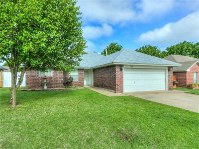 Choctaw Single Family Home For Sale: 1713 Butterfield Trail