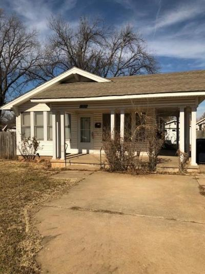 Oklahoma City OK Single Family Home For Sale: $70,000