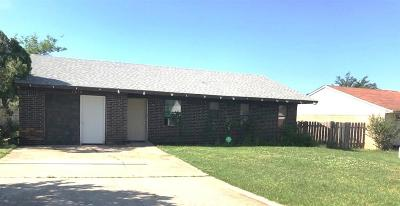 Tecumseh Single Family Home For Sale: 1210 Pond Creek