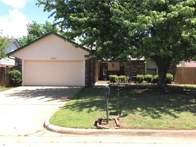 Oklahoma City Single Family Home For Sale: 8424 Azurewood Drive