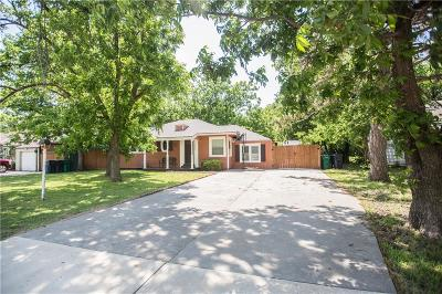 Oklahoma City Single Family Home For Sale: 3803 N Barr Avenue