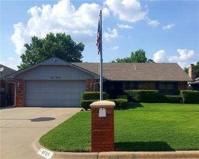 Oklahoma City Single Family Home For Sale: 8705 NW 90th Street