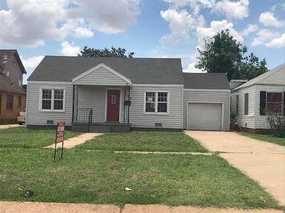 Altus OK Single Family Home For Sale: $57,500