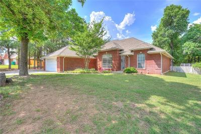 Choctaw Single Family Home For Sale: 17630 White Oak