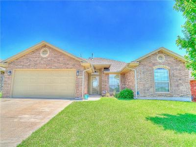Moore Single Family Home For Sale: 1800 January Place