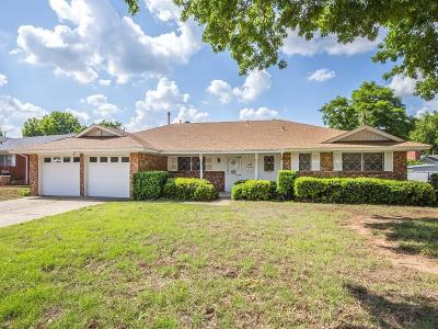 Midwest City Single Family Home For Sale: 1101 W Sunvalley Drive