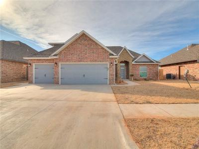 Yukon Single Family Home For Sale: 2817 Canyon Berry Lane