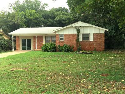 Midwest City Single Family Home For Sale: 1309 Parkwoods Court