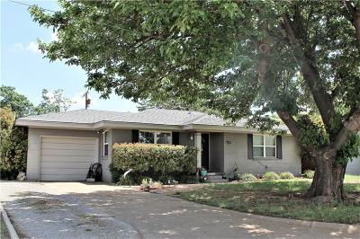 Single Family Home For Sale: 1716 Hollywood Drive