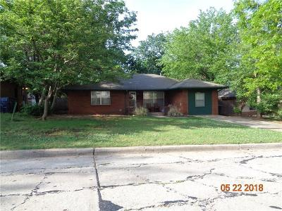 Oklahoma City Single Family Home For Sale: 1520 NE 48th Street