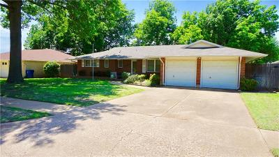 Midwest City Single Family Home For Sale: 3209 N Glenhaven Drive