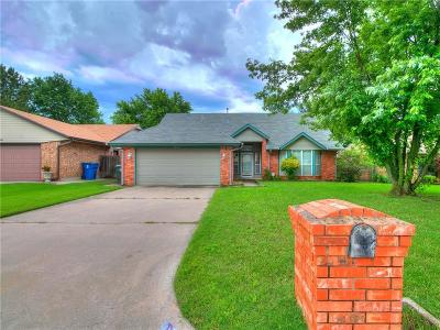 Midwest City Single Family Home For Sale: 10600 Kristie Lane