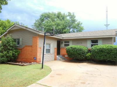 Midwest City Single Family Home For Sale: 2012 Sandra Drive