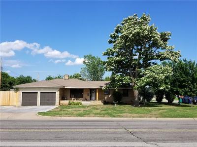 Oklahoma City OK Single Family Home For Sale: $119,000