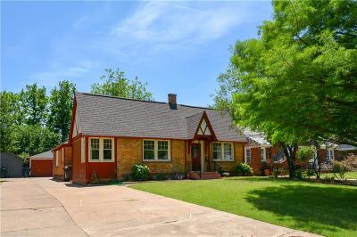 Oklahoma City Single Family Home For Sale: 2508 NW 19th