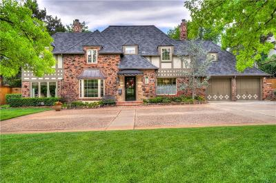 Nichols Hills OK Single Family Home For Sale: $1,195,000