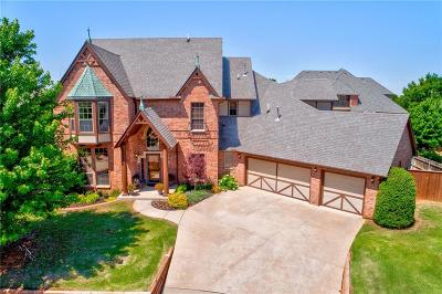 Edmond OK Single Family Home For Sale: $520,000