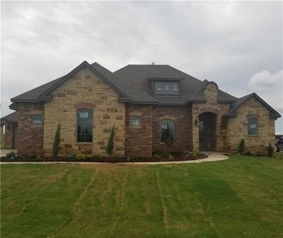 Tuttle Single Family Home For Sale: 1217 Antler Ridge