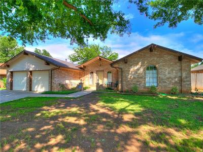 Oklahoma City Single Family Home For Sale: 9806 Hummingbird Lane