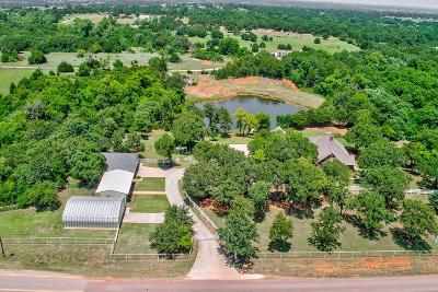 Blanchard OK Single Family Home For Sale: $539,500