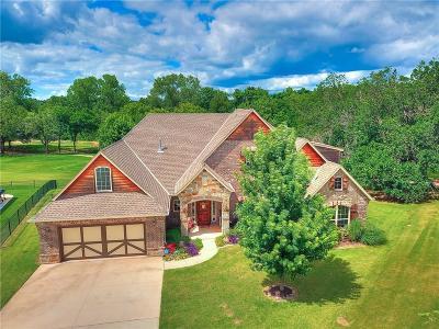 Edmond Single Family Home For Sale: 3201 Saint Fergus Drive