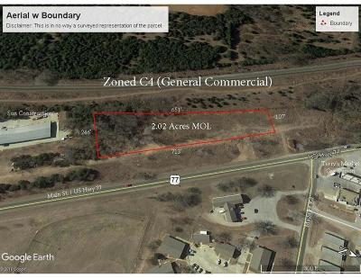 Noble Commercial For Sale: 00 S Main Street