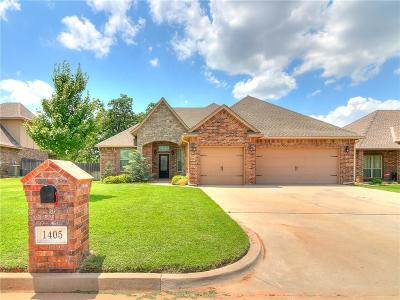 Midwest City Single Family Home For Sale: 1405 Riverwind