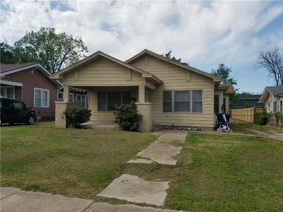 Oklahoma City Single Family Home For Sale: 1817 NW 14th Street