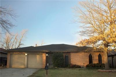 Oklahoma City OK Single Family Home For Sale: $117,500