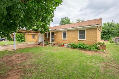 Del City Single Family Home For Sale: 1700 Hanna Drive