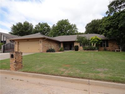 Midwest City Single Family Home For Sale: 109 Goldsborough Road