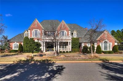 Oklahoma City OK Single Family Home For Sale: $849,500